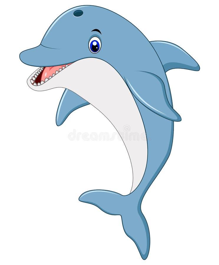常设海豚例证 向量例证