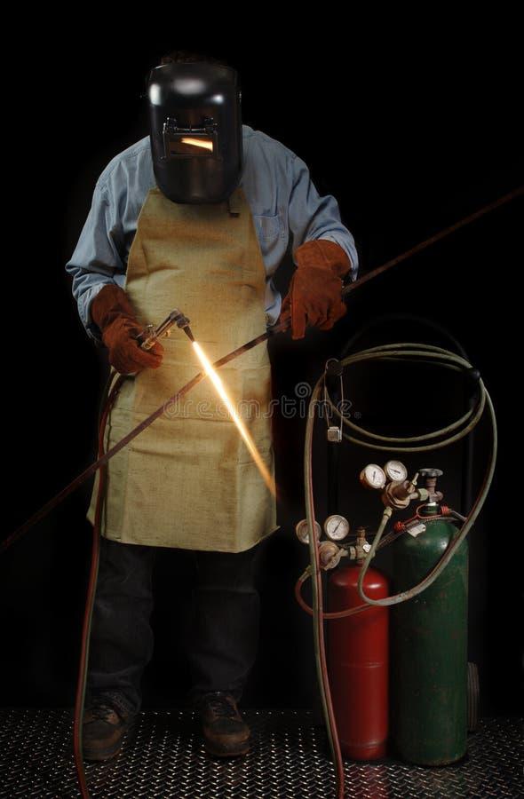 常设焊工 库存图片