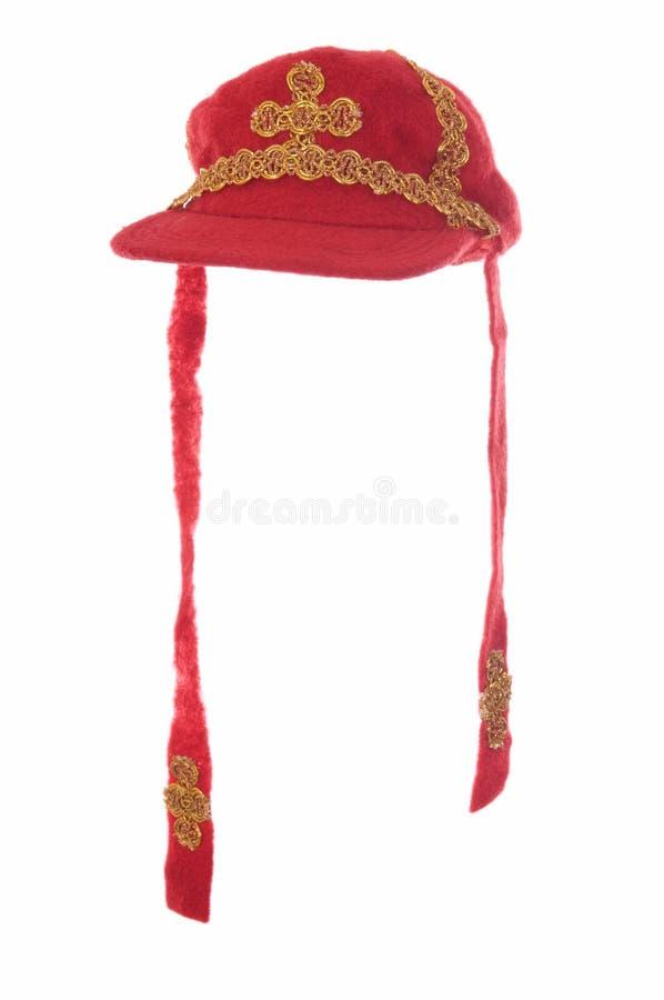 帽子主教尼古拉斯圣徒 图库摄影