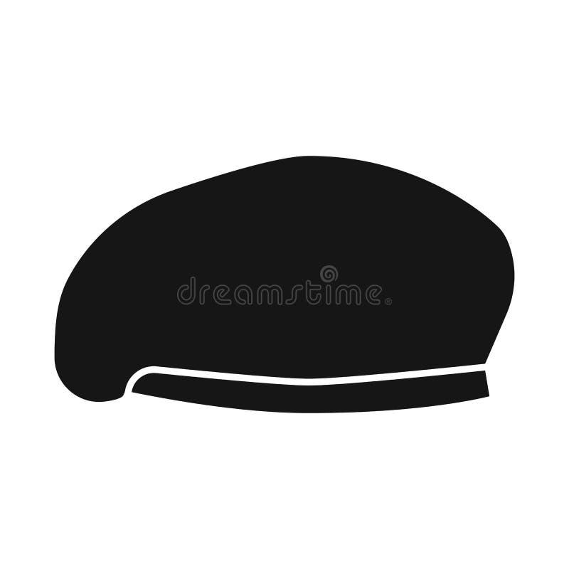 帽子和特攻队标志传染媒介设计  帽子和衣裳储蓄传染媒介例证的汇集 向量例证
