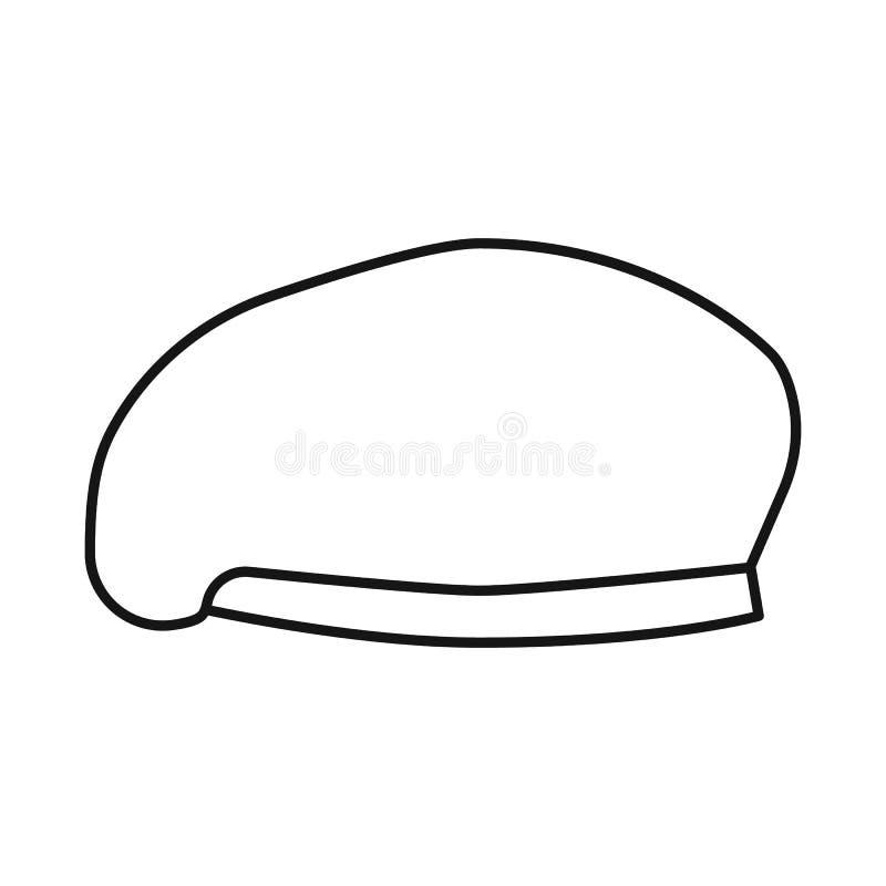帽子和特攻队象传染媒介设计  帽子和衣裳储蓄传染媒介例证的汇集 皇族释放例证