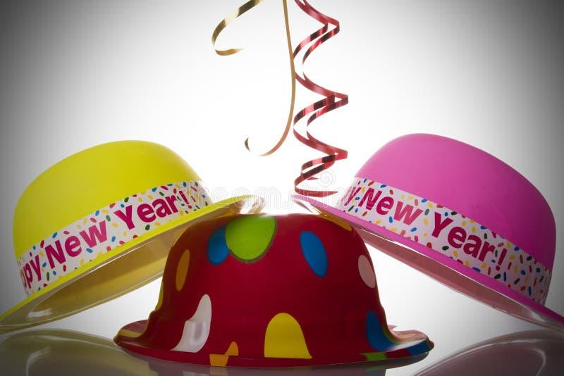 帽子新年度 免版税库存照片