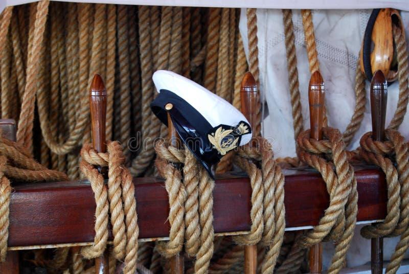 帽子水手 免版税图库摄影