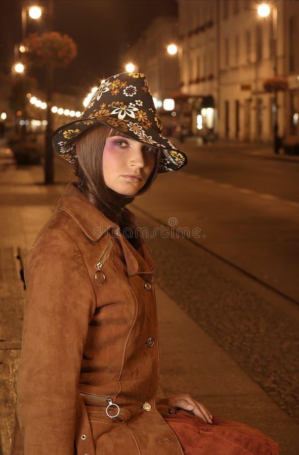 帽子设计 库存照片