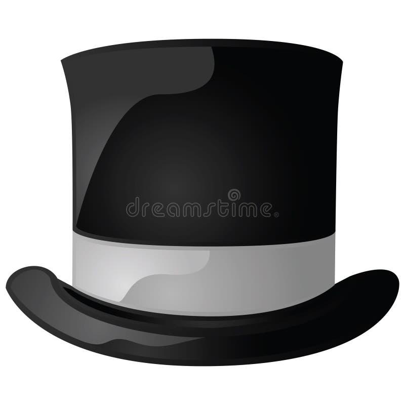 帽子顶层 向量例证