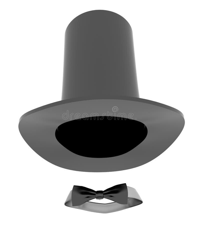 帽子魔术师 库存例证