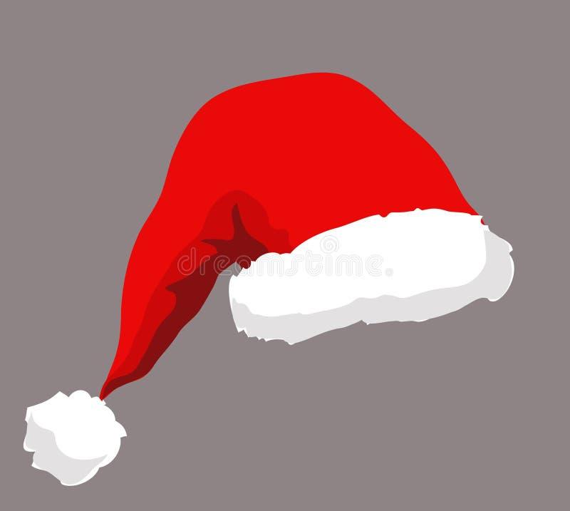 帽子s圣诞老人 库存例证