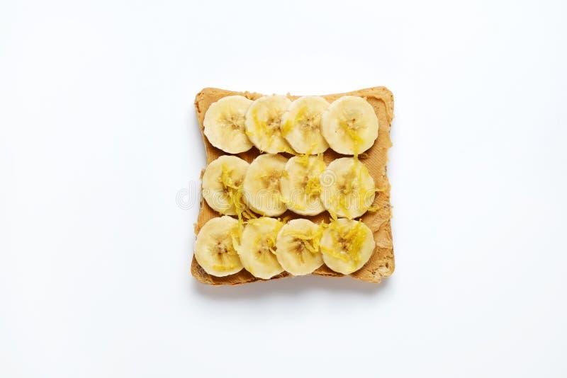 干净的吃概念 与有机成份的三明治 库存照片