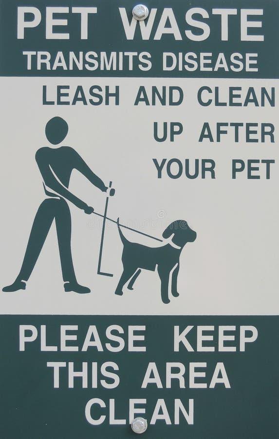 干净的宠物报名参加您 库存照片