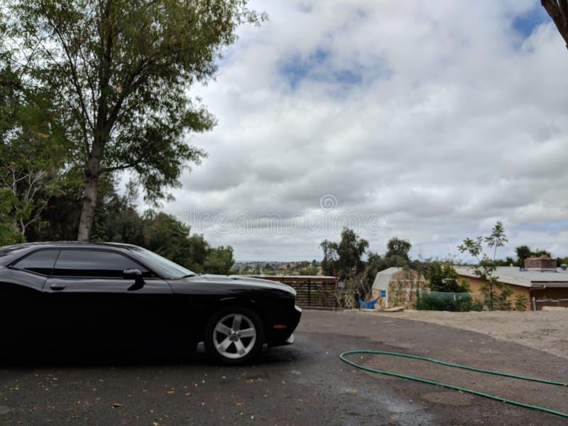 干净的汽车 免版税图库摄影