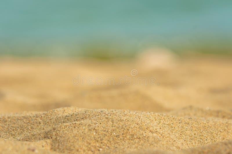 干净的沙子特写镜头照片  库存图片