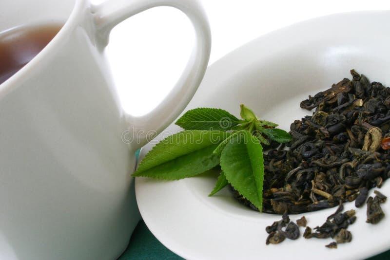 干叶子茶 免版税图库摄影
