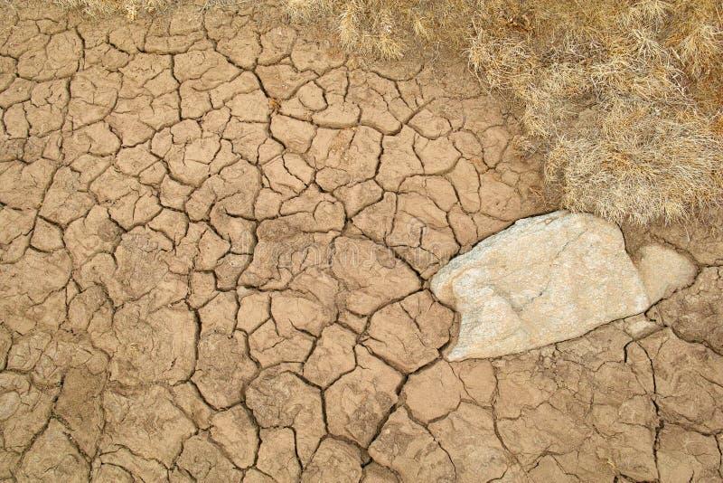 干旱的土壤 免版税库存图片