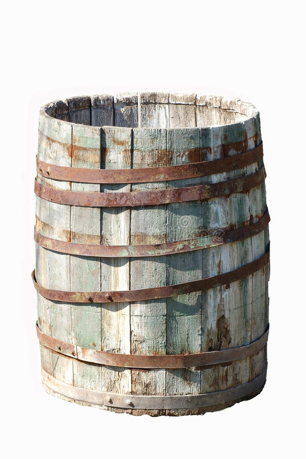 干燥侧面老木 库存例证