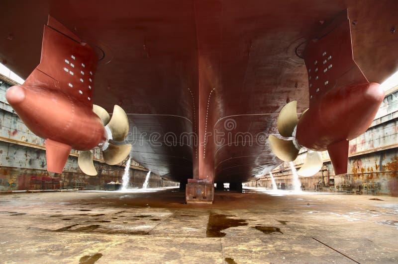 干燥的码头 免版税库存图片