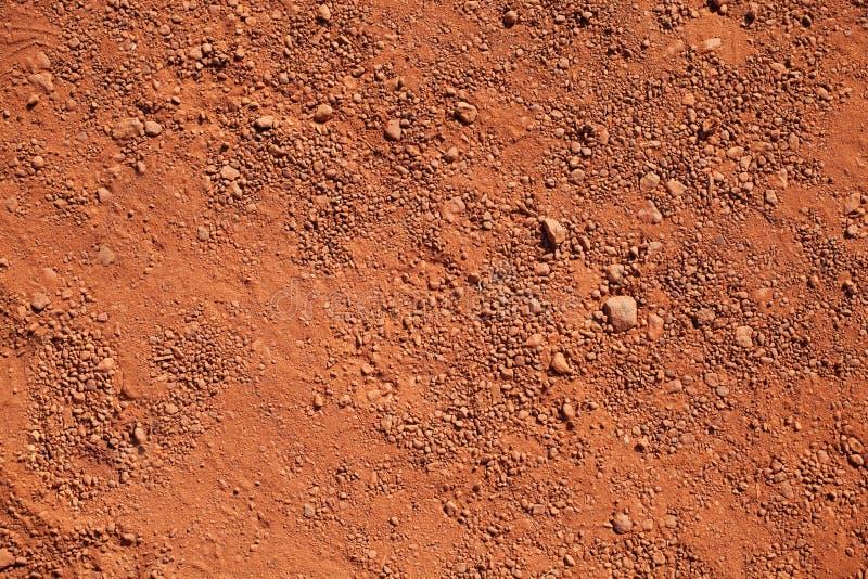 干燥红土 库存图片