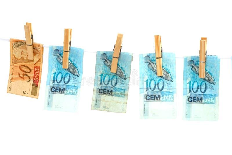 干燥货币 库存照片