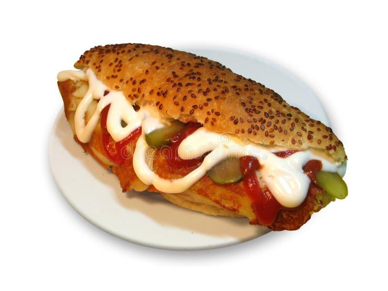 干酪三明治 免版税图库摄影