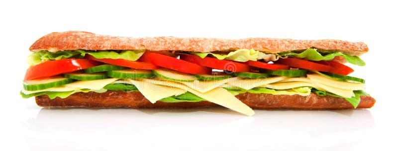 干酪健康三明治 库存照片