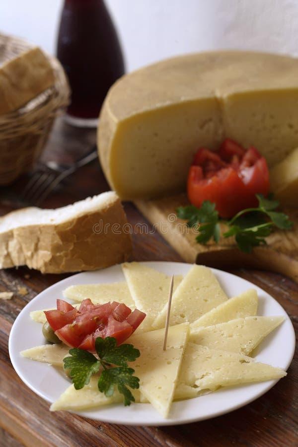 干酪克罗地亚人 免版税库存照片