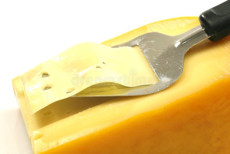 干酪切片机 图库摄影