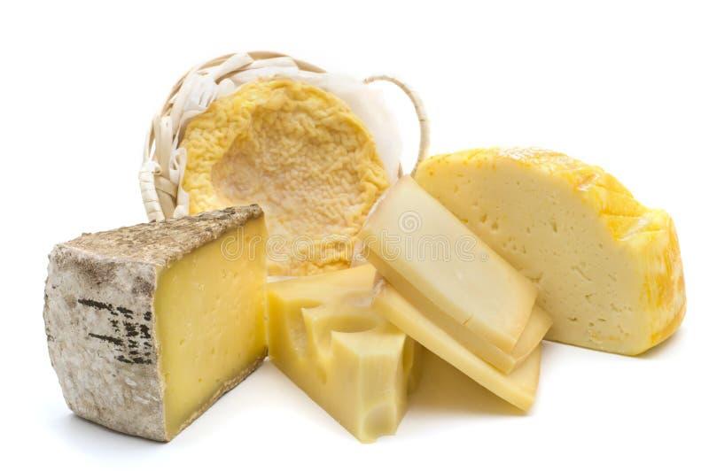 干酪可口法语 免版税库存照片