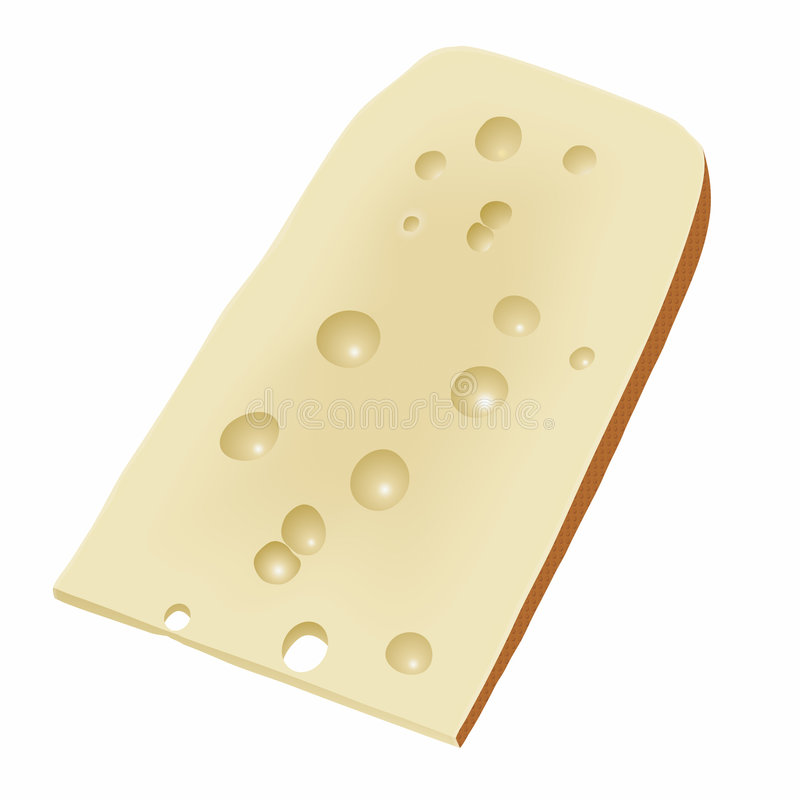 干酪向量 皇族释放例证