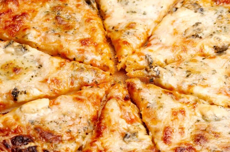 干酪四薄饼 免版税库存照片