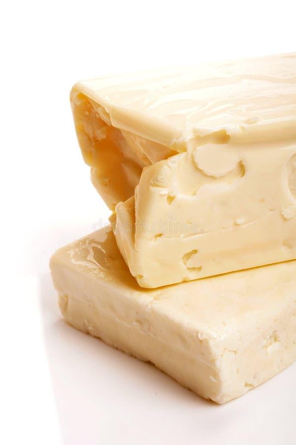 干酪堆 免版税库存照片