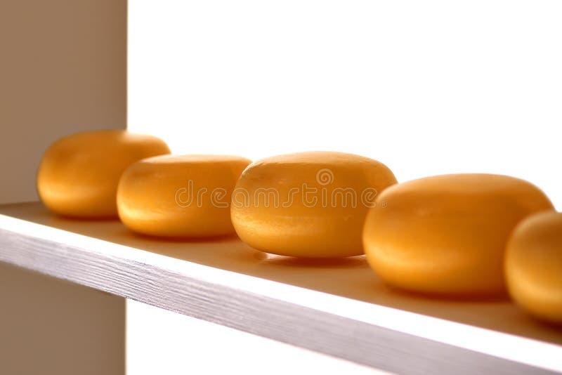 干酪架子 库存照片