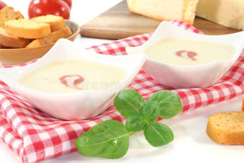 干酪汤 图库摄影