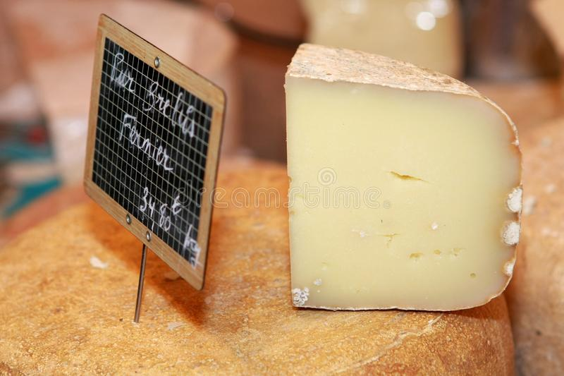 干酪法语山羊 库存图片
