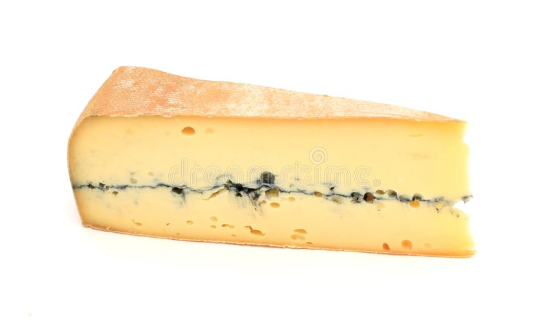 干酪法语片式 库存照片