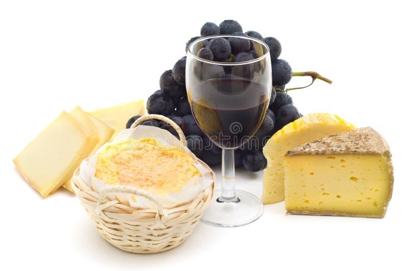干酪法语美食 免版税库存照片