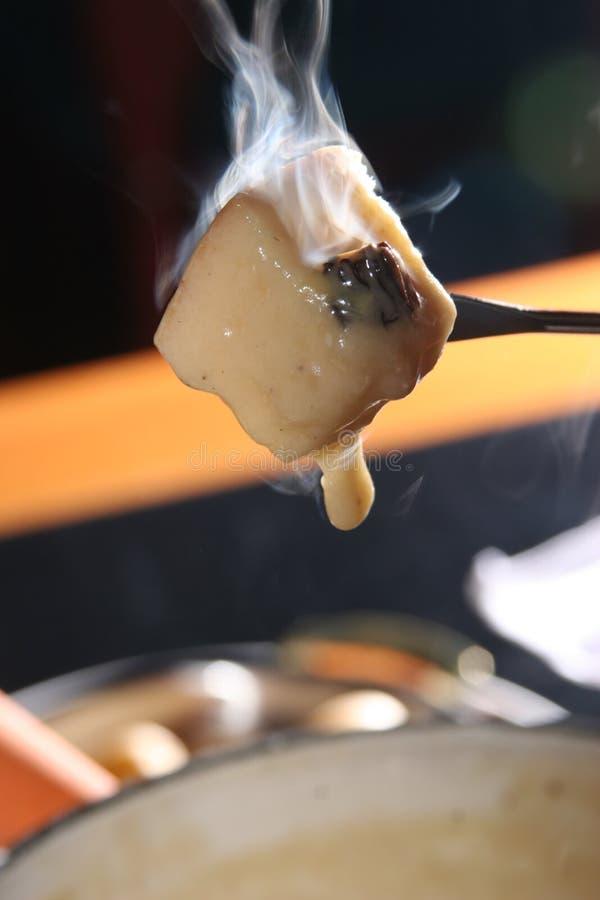 干酪溶化奶油 库存照片