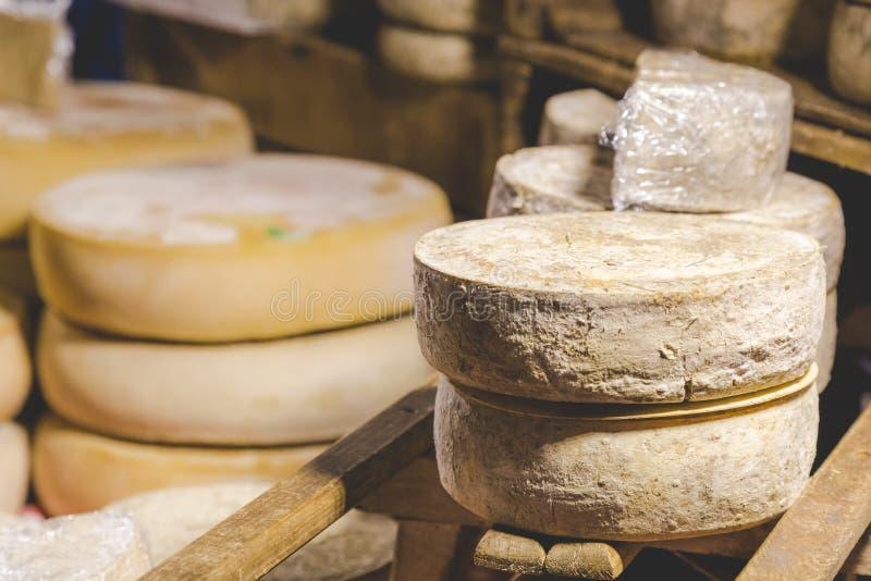 干酪现有量做 免版税库存照片