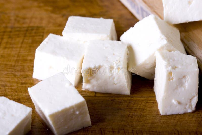 干酪白色 库存图片
