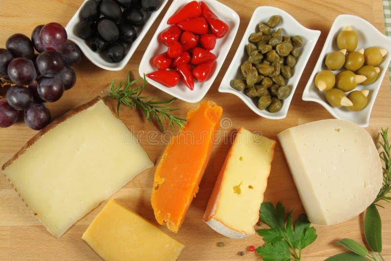 干酪腌汁 图库摄影