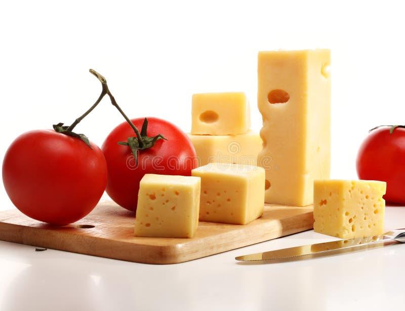 干酪蕃茄 库存照片
