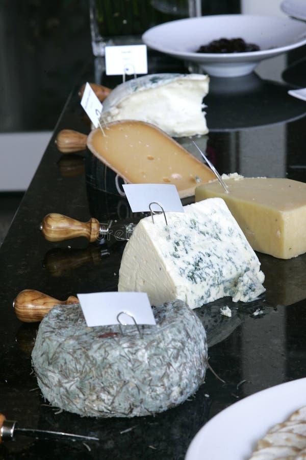干酪表 免版税库存图片