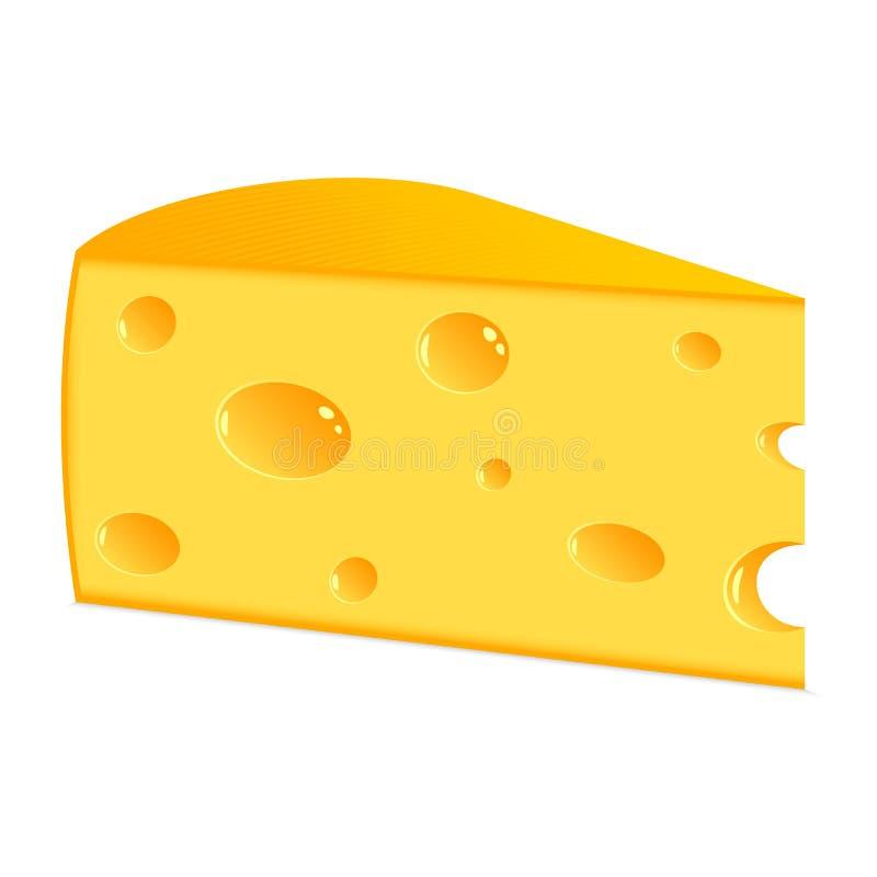 干酪部分  皇族释放例证