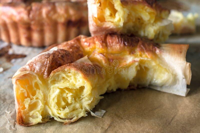 干酪饼 库存照片