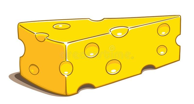 干酪 库存例证