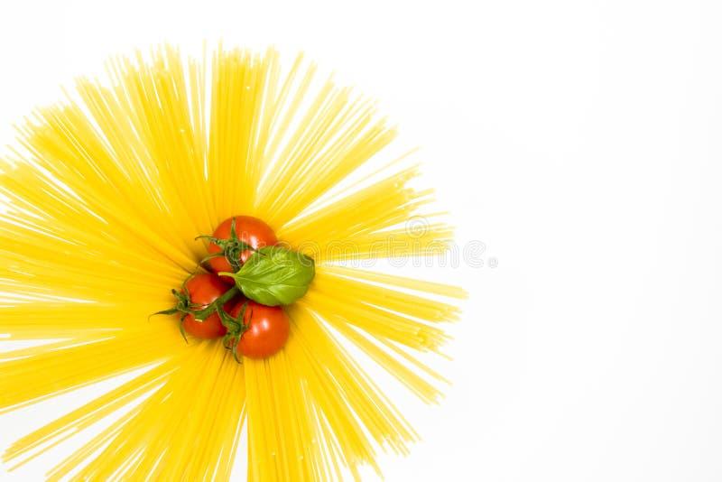 干面团用蕃茄 图库摄影