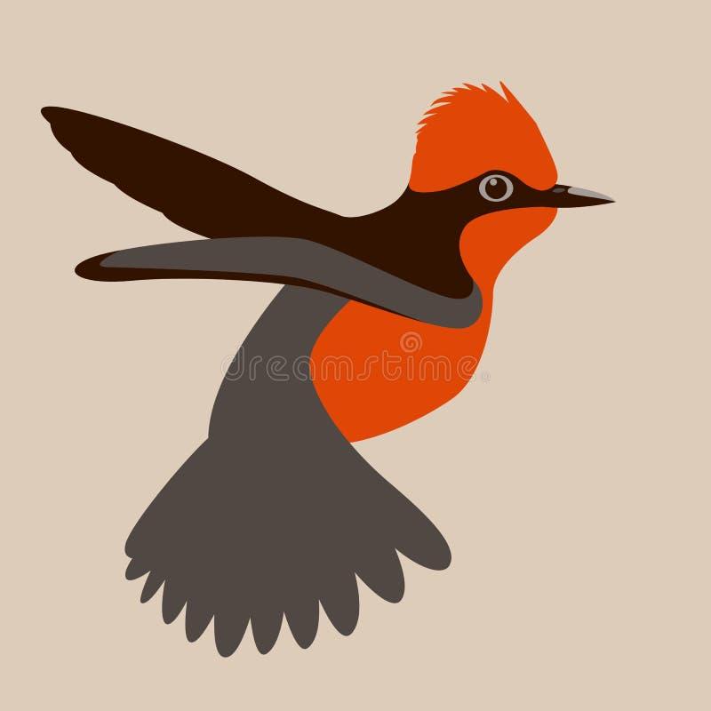 平主要鸟传染媒介例证外形的边 皇族释放例证