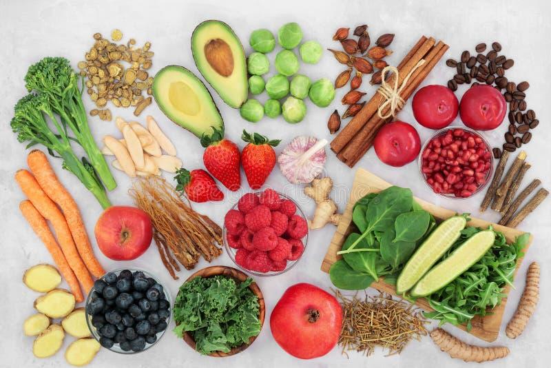平喘保健食品 库存图片