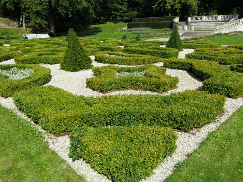 平安的庭院 图库摄影