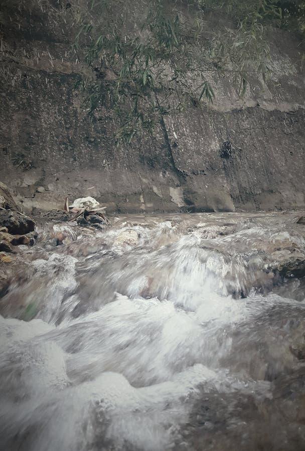 平安的河 图库摄影