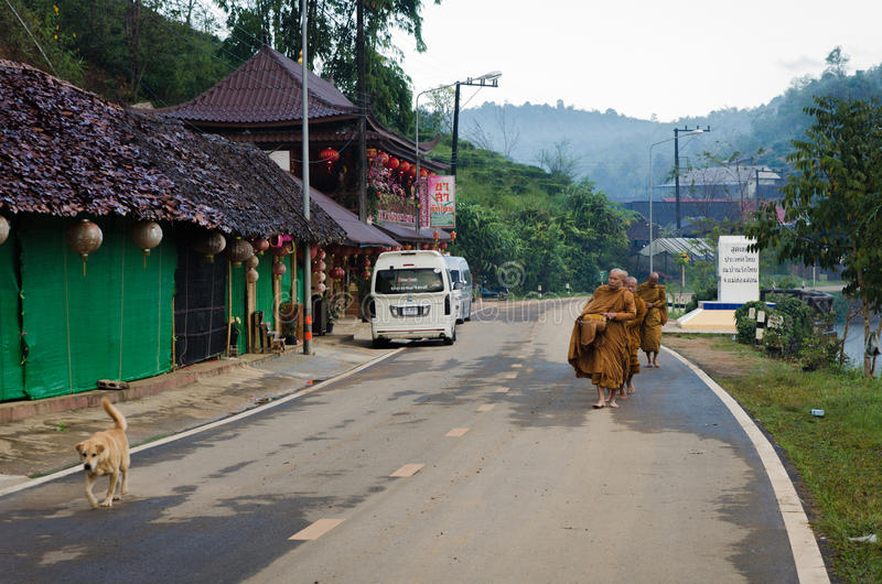 平安的泰国 库存照片