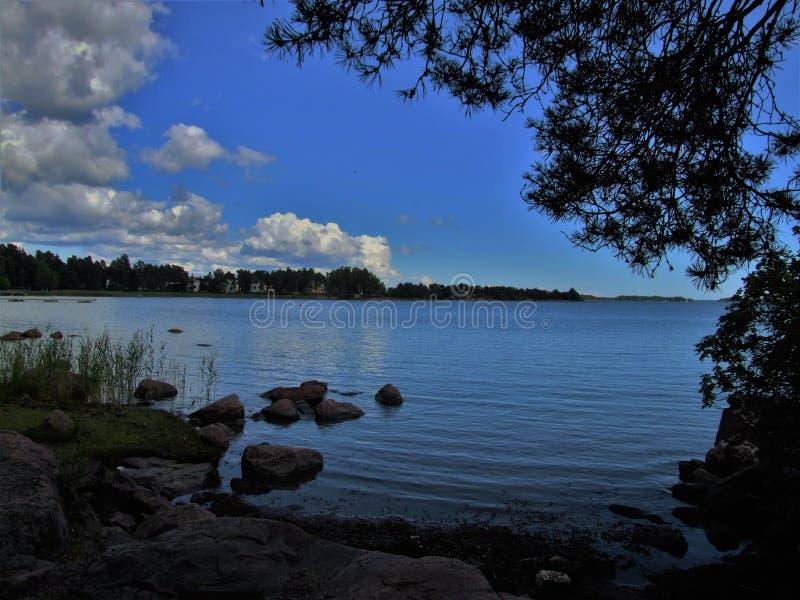 平安的芬兰 免版税图库摄影